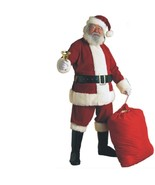 Christmas - Santa Claus Suit - Ultra Velvet - Size XXL - Pere Noel Costume - $62.17