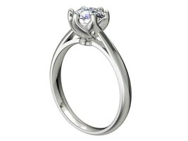 Mold Rubber Silicon   Engagement Ring - CA8 - $34.65
