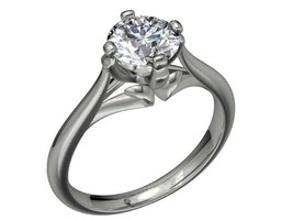 Mold Rubber Silicon   Engagement Ring - CA7 - $34.65