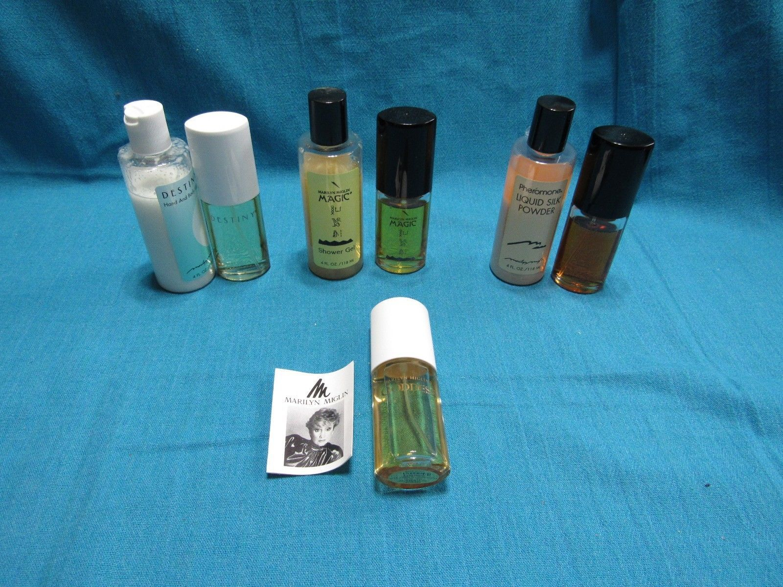 Pheromone Magic Destiny Goddess Marilyn Miglin Powder Gel Lotion Spray Set