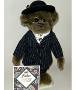 50% off! Pickford Brass Button Bears Baxter with Father Dad Pin - $6.00