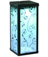 Smart Solar 3011WRM1 Solar Scroll Lantern with Antique Finish, Black - $25.95