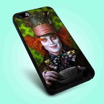 Alice in Wonderland Madhatter iPhone 4 4S 5 5S 5C 6 Samsung Galaxy S3 S4... - $12.99
