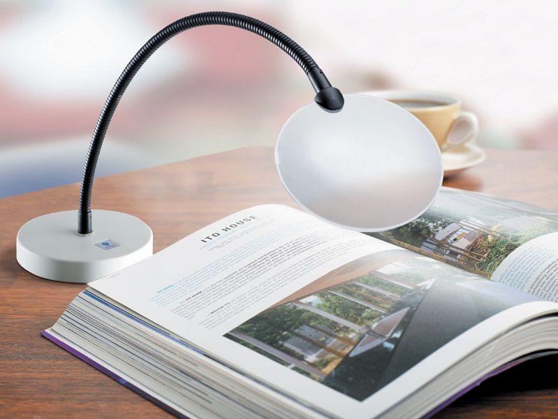 Daylight Flexilens on Base White Magnifier U90946 DISCOUNTED Daylight Company