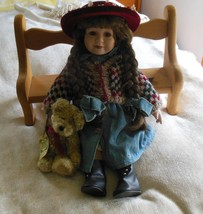 """Boyds Yesterday's Child Doll """"Karen"""" #4900 Limited Edition Country Doll - $62.50"""