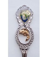 Collector Souvenir Spoon USA Washington Fish Em... - $2.99