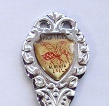 Collector Souvenir Spoon Canada Alberta High Level Mosquito Emblem - $4.95