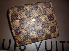 Authentic Louis Vuitton Elise Wallet Damier - $320.00