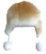 Alpakaandmore Womens Alpaca Fur Hat Winter Ski Pelt Hat Earflap (Medium) - $69.30
