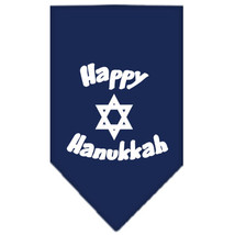 Happy Hanukkah Doggie Bandanas (Small or Large) by Mirage Pet Products - €3,77 EUR
