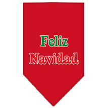 Feliz Navidad Doggie Christmas Bandanas (Small or Large) by Mirage Pet P... - €3,77 EUR