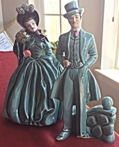 VTG FLORENCE CERAMICS CO  GONE WITH THE WIND SC... - $28.04