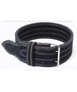 CP BRAND NEW POWER WEIGHT LIFTING BELTS BLACK FREE SHIP IN USA - ALL LEA... - $57.74