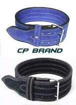 CP BRAND NEW POWER WEIGHT LIFTING BELTS BLUE OR BLACK HIGH QUALITY ALL L... - $38.00