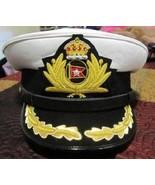 ROYAL MARINE SHIP WHITE STAR LINE HATS TITANIC CAPTAIN SMITH HAT NEW ALL... - $94.00