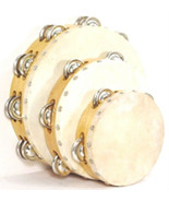 10 X Set of 3 TAMBOURINES Brand New WHOLESALE LOT OF 30 PIECES. Quality ... - $299.38
