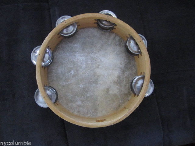 Church TAMBOURINES Set Of Three CP Brand New #1 Quality Sound Wood Set CP Made