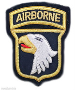 US ARMY 101ST AIRBORNE COMBAT IDENTIFICATION ID BADGE FREE SHIP IN USA - CP MADE - $11.88