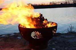 Fire Pit Art Beach Beachcomber Natural Gas/Liquid Propane Fir Pit - €889,86 EUR