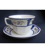 Adams Lancaster Cup and Saucer English Ironstone - $14.99