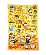 Illust Deco Stickers Friends School Life - $2.99