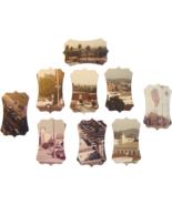 Vintage Photos Die Cuts 9pk Journal Plates Tag ... - $2.50