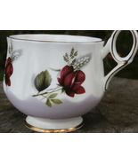 Elizabethan Rose Cup - Ornate Vintage Bone Chin... - $12.99