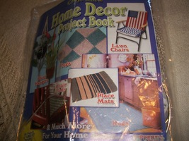 Prepperell Crafts Craft Cord Home Decor Project Book & Kit - $15.00