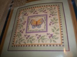 Butterfly and Vine Cross Stitch Kit - $18.00