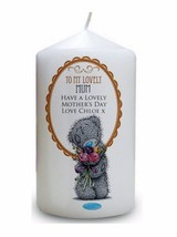 Cellini Candles Personalised Mum Mothers Day Tatty Teddy Keepsake Gift - $16.77