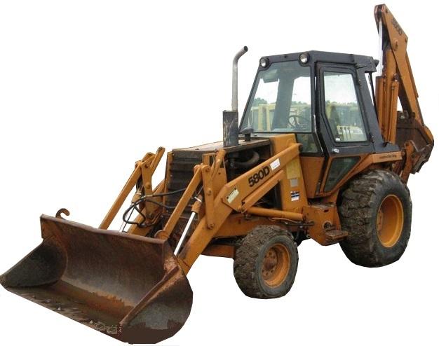 Case 580D Backhoe Loader Tractor Service Repair Manual CD - 580 D
