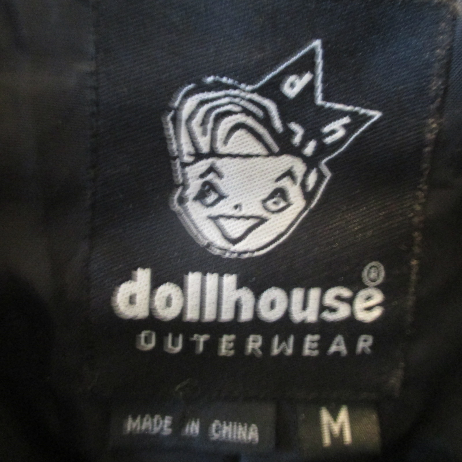 Dollhouse Faux Leather Reptile Print Jacket Size M
