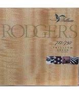 Rodgers 787/797 Trillium Organ [Audio CD] Rodney Barbour - $10.05