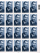 Roy Wilkins 20 x 34 Cent US Postage Stamps Scot #350 - $9.95