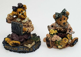 Lot Of 2 Boyds Bears Justina Message Bearer Meg O Bytes Lap Dancin 1995 2000  - $9.46