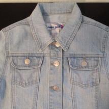 Light Wash Short Jean Jacket      Size: L     Rave Girl - $18.95
