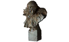 Happy Kuji METAL GEAR SOLID V THE PHANTOM PAIN Ocelot Bust Statue Figure - $58.00