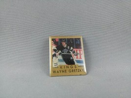 Wayne Gretzky Pin - Los Angeles Kings - Featuring Stats on Back - By Ace - $25.00
