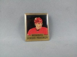 Sergei Federov Pin - Detroit Red Wings - Featuring Stats on Back - By Ace - $19.00