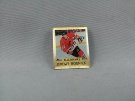 Jeremy Roenick Pin - Chicago Blackhawks - Featuring Stats on Back - By Ace - $15.00