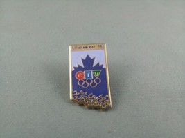Rare - 1994 Winter Olympic Games Pin - CTV British Columbia Broadcast Pin - $25.00