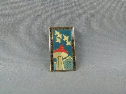 Primary image for 1988 Winter Olympic Games Pin - Opening Ceremonies Pin - Hard to Find