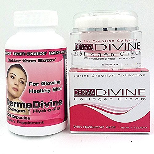 Derma Divine (Collagen Cream Plus Type I Combo Pack, 1)