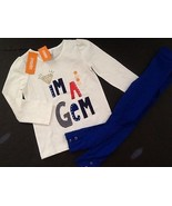 Gymboree Outfit 5 Mod About Orange I'm a Gem Di... - $15.78