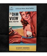 The Dim View by Basil Heatter 1949 Signet Books 668 - $3.99