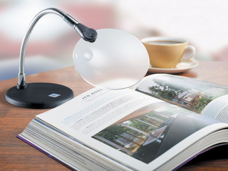 Daylight Flexilens on Mini Base Silver Black U91091 DISCOUNTED Daylight Company