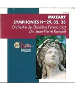 Mozart;Symphonies 29,32,33 [Audio CD] - $1.47
