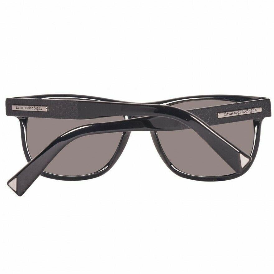 Ermenegildo Zegna Herren Sonnenbrille Schwarz EZ0020 5401A