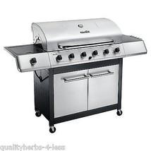 Char Broil K6B 6-Burner 65,000 BTU Propane Gas Grill W Sideburner Yard D... - £391.93 GBP
