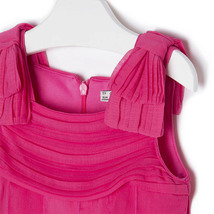 Mayoral Little Girls 2T-9 Fuchsia-Pink Cascade Ruffle Social Party Dress image 3